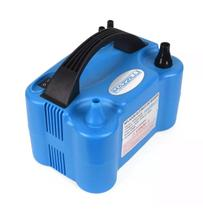 Inflador Compressor Bomba Balões Bexigas Azul - Mazzilli