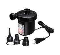 Inflador Eletrico Bomba De Ar com 3 Bicos Colchao - 110 Volts - Atena mix