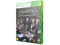 Injustice: Gods Among Us Edição Limitada - para Xbox 360