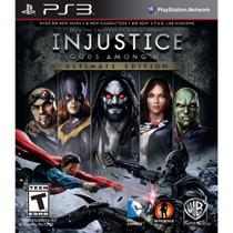 Injustice: Gods Among Us Ultimate Edition - PS3 - Sony