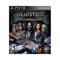 Injustice Gods Among Us Ultimate Edition - Ps3 - Sony