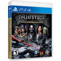 Injustice: Gods Among Us Ultimate Edition - Ps4 - Sony