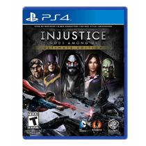 Injustice Gods Among Us Ultimate Edition - Ps4 - Wb games