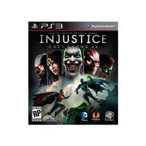 Injustice - PS3 - Warner bros games