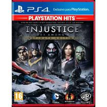 Injustice Ultimate Edition Playstation Hits Ps4 Midia Fisica - Sony