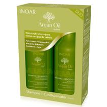 Inoar Kit Argan Shampoo + Condicionador 250ml