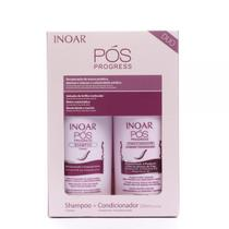 Inoar Kit Pós Progress - Shampoo e Condicionador 250ml -