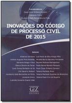 Inovações do Código Processual Civil de 2015 - 01ED/16 - Gz editora