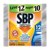 Inseticida Elétrico Pastilha 12h Refil Regular Leve 12 Pague 10 - Sbp