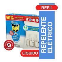 Inseticida Elétrico Protector 45 Noites Refil - 2 unidades - Raid -