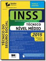 Inss - instituto nacional do seguro social - tecnico nivel medio - Saraiva