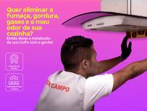 Instalação de coifa em parede  os melhores técnicos, serviço limpo e seguro, qualidade garantida - Cdf