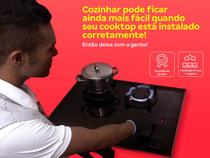 Instalação de cooktop  os melhores técnicos, serviço limpo e seguro, qualidade garantida - Cdf