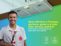Instalação de depurador - os melhores técnicos, serviço limpo e seguro, qualidade garantida - Cdf