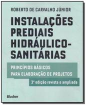 Instalações prediais hidráulico-sanitárias - Blucher -