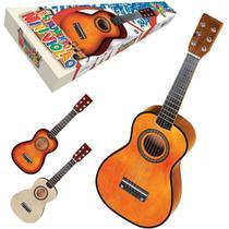 Instrumento Musical Violao Mini de Madeira 58,5CM - Art Brink