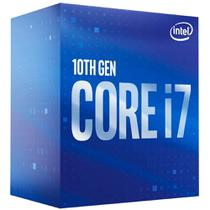 Intel Core i7 10700 - LGA 1200 - 2.9GHz (Turbo 4.8GHz) - Cache 16MB - 10ª Geração - BX8070110700 -