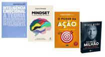 Inteligência Emocional + Mindset + O Poder Da Ação + Do Mil ao Milhão - Várias Editoras