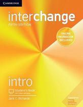 Interchange intro sb with online self-study and online wb - 5th ed Cambridge university