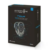 Intercomunicador bluetooth interphone tour - duplo -