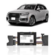 Interface Câmera de Ré Audi Q7 2016 a 2019 Faaftech FT-RC-AUD4 Desbloqueio Traseiro Dianteiro Plug and Play -