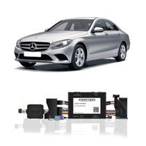Interface Câmera de Ré Mercedes-Benz Classe C 2015 a 2019 Faaftech FT-RC-MB15 Desbloqueio Traseiro Dianteiro Plug and Play -