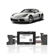 Interface Câmera de Ré Porsche 718 2017 a 2019 Faaftech FT-RC-AUD4 Desbloqueio Traseiro Dianteiro Plug and Play -
