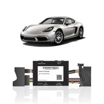 Interface Câmera de Ré Porsche 911 2017 a 2019 Faaftech FT-RC-AUD4 Desbloqueio Traseiro Dianteiro Plug and Play -