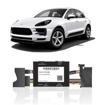 Interface Câmera de Ré Porsche Macan 2017 a 2018 Faaftech FT-RC-AUD4 Desbloqueio Traseiro Dianteiro Plug and Play -