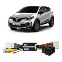 Interface Câmera de Ré Renault Captur 2018 a 2019 Faaftech FT-RC-RN Desbloqueio Traseiro Dianteiro Plug and Play -