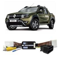 Interface Câmera de Ré Renault Duster Oroch 2016 a 2019 Faaftech FT-RC-RN Desbloqueio Traseiro Dianteiro Plug and Play -