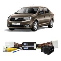 Interface Câmera de Ré Renault Logan 2012 a 2019 Faaftech FT-RC-RN Desbloqueio Traseiro Dianteiro Plug and Play -