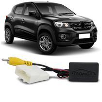 Interface Câmera de Ré Universal Renault Original para Multimídia Convencional Plug and Play - Tromot
