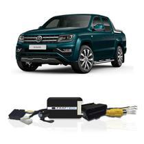 Interface Câmera de Ré Volkswagen Amarok 2017 a 2021 Faaftech FT-RC-VW1 Desbloqueio Traseiro Dianteiro Plug and Play -
