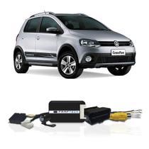 Interface Câmera de Ré Volkswagen CrossFox 2016 a 2018 Faaftech FT-RC-VW1 Desbloqueio Traseiro Dianteiro Plug and Play -