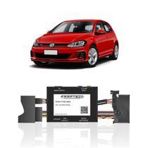 Interface Câmera de Ré Volkswagen Golf 2014 a 2020 Faaftech FT-RC-AUD4 Desbloqueio Traseiro Dianteiro Plug and Play -
