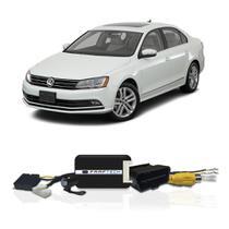 Interface Câmera de Ré Volkswagen Jetta 2016 a 2018 Faaftech FT-RC-VW1 Desbloqueio Traseiro Dianteiro Plug and Play -