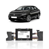 Interface Câmera de Ré Volkswagen Jetta 2016 a 2020 Faaftech FT-RC-AUD4 Desbloqueio Traseiro Dianteiro Plug and Play -