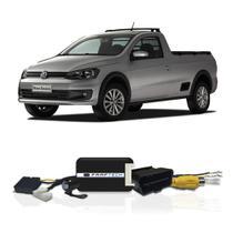 Interface Câmera de Ré Volkswagen Saveiro 2016 a 2021 Faaftech FT-RC-VW1 Desbloqueio Traseiro Dianteiro Plug and Play -