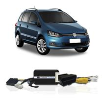Interface Câmera de Ré Volkswagen SpaceFox 2016 a 2018 Faaftech FT-RC-VW1 Desbloqueio Traseiro Dianteiro Plug and Play -