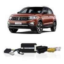 Interface Câmera de Ré Volkswagen T-Cross 2019 a 2021 Faaftech FT-RC-VW1 Desbloqueio Traseiro Dianteiro Plug and Play -