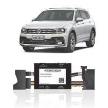 Interface Câmera de Ré Volkswagen Tiguan 2018 a 2020 Faaftech FT-RC-AUD4 Desbloqueio Traseiro Dianteiro Plug and Play -