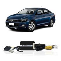 Interface Câmera de Ré Volkswagen Virtus 2018 a 2021 Faaftech FT-RC-VW1 Desbloqueio Traseiro Dianteiro Plug and Play -