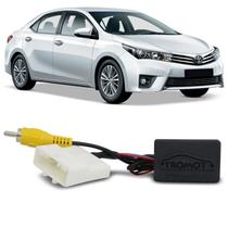 Interface Câmera Ré Corolla SW4 Hilux Prius Yaris Original e Multimídia Convencional Plug and Play - Tromot