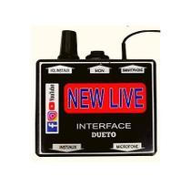 Interface de áudio Dueto New Live -