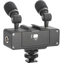 Interface De Áudio Estéreo Saramonic Camixer Para Câmeras/filmadoras -