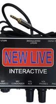 Interface de Áudio Interactive Profissional New Live -