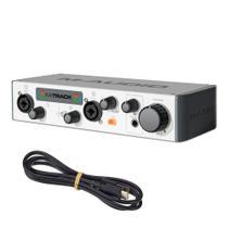 Interface de Áudio M-Audio MTRACKII USB 2 Canais - M Audio