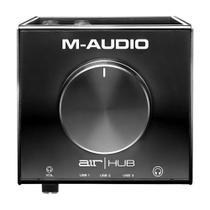 Interface De Áudio Para Monitoramento Air Hub Usb M-audio -