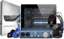 Interface de Áudio PreSonus Áudiobox iTwo Studio Kit -